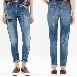 Madewell Slim Boy Jean Rip Repair Edition 25